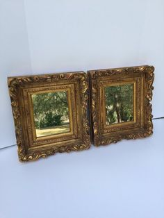 ed0fd8c87431 MIrrrors Wood hand carved ornate Gold Leaf Frame