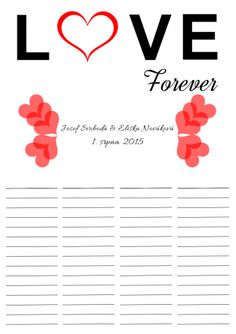 Love wedding list ♥