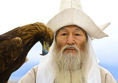 Kyrgyz ak sakal.