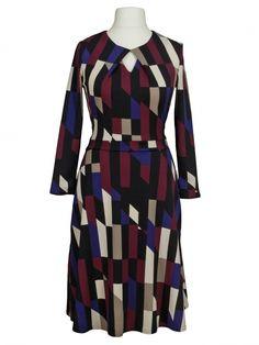 Damen Jerseykleid Grafik, multicolor von Egerie Paris bei www.meinkleidchen.de