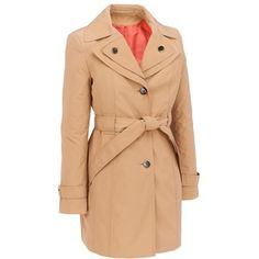 Single Breasted 3/4 Length Belted Trench