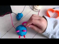 We used Technology Will Save Us Electro Dough to explore electric circuits and make this cute squeaking mouse with conductive playdough and non-conductive cl. Electric Circuit, Working With Children, Science, Shapes, Kit, Make It Yourself, Youtube, Youtubers, Youtube Movies