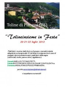Tolineinsieme in festa - Toline di Pisogne - http://www.panesalamina.com/2012/2232-toline-insieme-in-festa-toline-di-pisogne.html