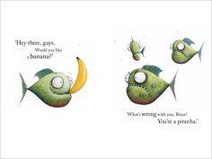 Piranha's Don't Eat Bananas - CBCA Book Week 2016 - Teaching activities Primary English, Books 2016, Book Week, Blog Images, Teaching Activities, Literacy, Learning, Bananas, Australia
