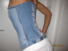 Jeans idea-Made out of an old pair of jeans