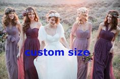 Bridesmaid Dresses Convertible Dress Evening Dress Infinity Dress Maxi Dress in Clothes, Shoes & Accessories, Wedding & Formal Occasion, Bridesmaids' & Formal Dresses | eBay