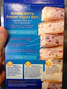 Yogurt graham cracker bars