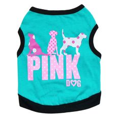 Oasis Plus Pink Dog Costume Light Blue Pet T-shirt Vest for Dogs Cats Puppy ** Read more reviews of the product by visiting the link on the image. (This is an affiliate link and I receive a commission for the sales)