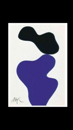 """Jean Arp - """" Senza titolo """", 1964 - Collage su cartone - 24 x 16 cm"""