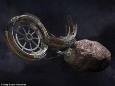 ASTEROID MINING IN TWO YEARS...Asteroids could be mined for useful ores and minerals as they hurtle past the Earth under plans by a U.S. company (Deep Space Industries (DSI)) to launch its first rock-prospecting spacecraft by 2015. More information at http://www.crystalchannelers.com/blog/new-science---asteroid-mining-in-two-years/
