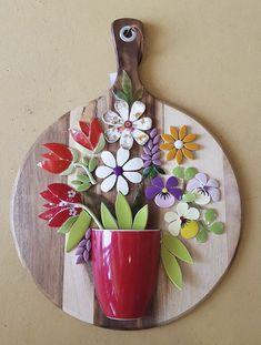 1 million+ Stunning Free Images to Use Anywhere Mosaic Tile Art, Mosaic Artwork, Mosaic Crafts, Mosaic Projects, Mosaic Glass, Mosaic Designs, Mosaic Patterns, Wall Art Designs, Mosaic Flower Pots