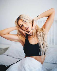 Alina Eremia My Idol, Bikinis, Hair, Style, Swag, Bikini, Bikini Tops, Strengthen Hair, Outfits