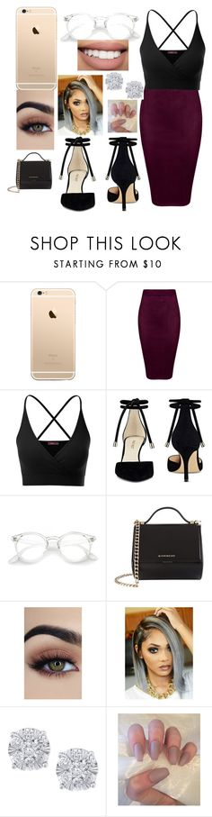 """Graduation 👩🏽‍🎓"" by cu30rry ❤ liked on Polyvore featuring Doublju, Nine West, Givenchy, Bow & Arrow and Effy Jewelry"