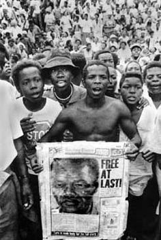 Nelson Mandela was free from prison after 27 years behind bars it was a huge impact on the Apartheid. He was a leader for everyone and he helped put an end to the Apartheid.