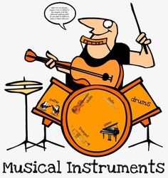 Are you looking for a way to introduce/review musical instruments with your students?