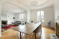 Rent Apartment - PARIS 17 - France - 7 rooms - 4 bedrooms - 200 m² (2 150 sq. ft.) - Daniel Féau