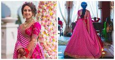 This Sabyasachi bride Offbeat Mehendi look is breaking the internet Best Prom Dresses, Prom Dresses For Sale, Popular Dresses, Ball Dresses, Ball Gowns, Sabyasachi Bride, Plus Size Formal Dresses, Lehnga Dress, Mehendi