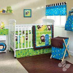 """Cuneros en verde y azul """"Dany"""". Accesorios, Cobijas y Juegos de Cuna para Bebés. Nuevos diseños de mantas y cobijas para bebé, edredones para cunas y pañaleras para que tu bebé duerma seguro y comfortable. Todos los accesorios, cobijas y juegos de cuna para bebés cuentan con el respaldo y la calidad de Intima Hogar."""