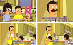 Bob's Burgers- good things that come from being bored.