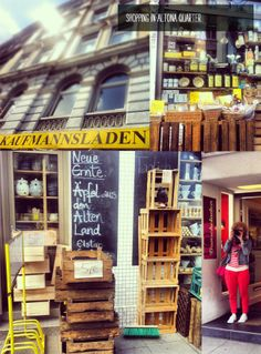 Shopping in Hamburg, Germany