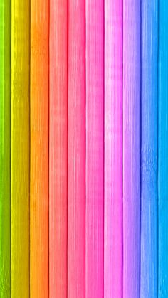 Cocoppa Wallpaper, Wallpaper Backgrounds, Wood Wallpaper, Colorful Wallpaper, Wooden Wall Art, Background Pictures, Cute Wallpapers, Rainbow Colors, Bunt