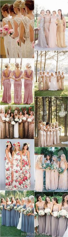 Get Inspired From These 40 Gorgeous Real Wedding Bridesmaid Dresses
