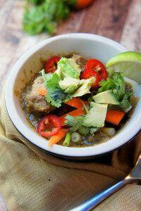 Slow Cooker Pork Chile Verde Recipe