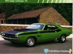 Galerie Foto - American Muscle Cars/1970 DODGE CHALLENGER T A 1970
