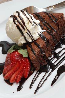 "Decadent ""Chocolate Valentino"" Cake"