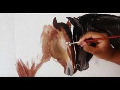 Speed Painting Horses - That is talent