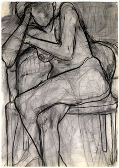 richard diebenkorn Seated Nude 1966