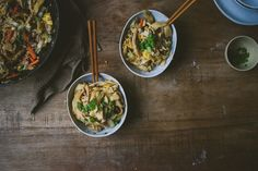 Homemade Knife-Cut Noodles with Simple Pork Chao Mian, a recipe on Food52