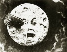 Georges Méliès. A Trip to the Moon (Le Voyage dans la lune). 1902 This is featured in the Invention of Hugo Cabret. :)