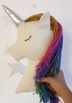 Unicornio almohada vivero decoración unicornio arco por missJoyka