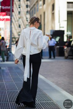 New York Fashion Week SS 2016 Street Style: Before Diesel