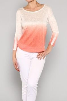 TOP-Ombre Acrylic Top ***Refer a Friend and win a chance for a $300 Shopping Spree!
