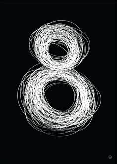 white paint or chalk on blackboard / white marker on thick black card & framed / string on board - typography Book Of Numbers, Alphabet And Numbers, Tachisme, Typography Love, Typography Letters, Art Graphique, Pics Art, Grafik Design, Word Art