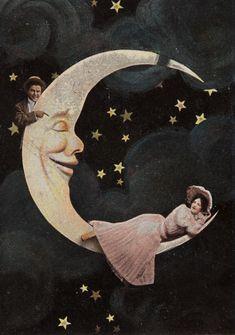 Romance on the moon...