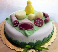 Torta Salumiere Salumi and Cheese Cake