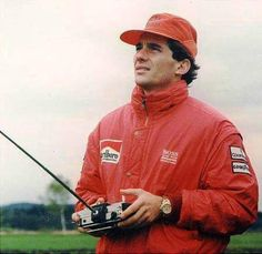 Ayrton Senna - Aeromodelismo