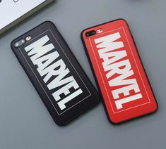 "Fashion simple ""MARVEL"" Phone Case Cover for Apple iPhone 7 7 Plus 5S 5 SE 6 6S 6 Plus 6S Plus + Nice gift box! LJ161006-005"