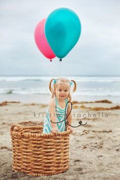 Props like balloons are always great for the kids and the pics!
