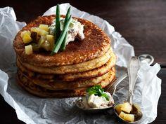 Tapas, Pancakes, Good Food, Eat, Cooking, Breakfast, Recipes, December, Inspiration