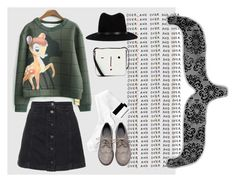 """""""Over and over"""" by fashioninsider7 on Polyvore featuring Monki, Topshop, rag & bone, Lulu Guinness and éS"""
