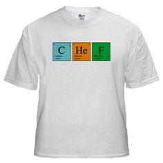 Chemist Chef Shirt