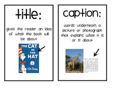 Text Features help a reader to understand non-fiction. (FREE)