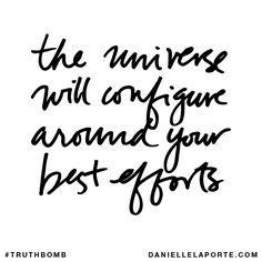 Make space For Your Future To Show Up....