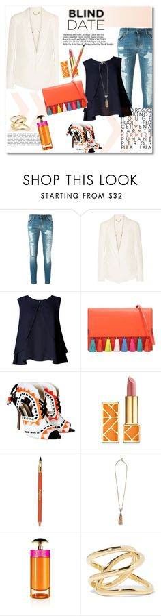 """Get the look"" by vkmd on Polyvore featuring Dolce&Gabbana, Chloé, Limited Edition, Rebecca Minkoff, Sophia Webster, Tory Burch, Sisley Paris, Lulu Frost, Prada and Jennifer Fisher"
