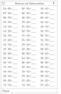 Vorschule Rechnen – Rebel Without Applause 2nd Grade Math Worksheets, Math Workbook, Printable Math Worksheets, Subtraction Worksheets, Math Tutor, 4th Grade Math, Kindergarten Math, Teaching Math, Go Math