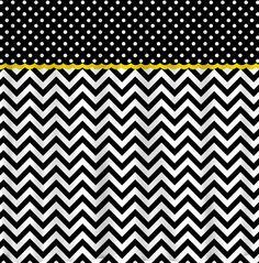Shower Curtain - Confetti Multi color Dots and Chevron - Any ...
